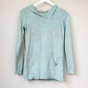Athleta Olema Hooded Long Sleeve Sweater